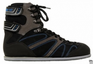 Competition Black Blue  Air Rifle Shooting Shoes