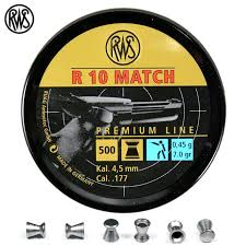 RWS R10 Air Pellets for Matches