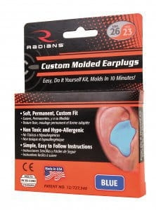 Custom Molded Earplugs KIT