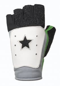 Top Star Green Shooting Gloves