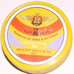 .177 AIR PELLETS MASTER SHOT FOR TRAINING PURPOSE