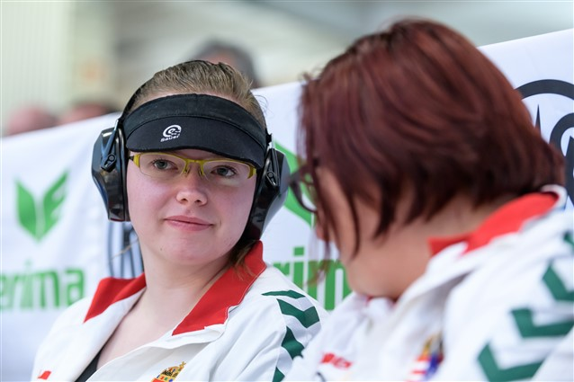 Major (HUN) pockets second gold medal in two days ISSF World Cup Rifle / Pistol · New Delhi, IND